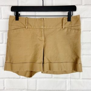 The Limited Drew Fit khaki chino shorts 2